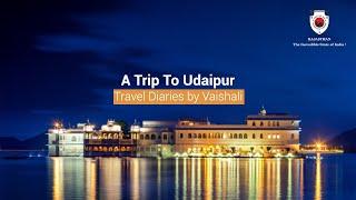 Travel Diaries by Vaishali - A Trip to Udaipur