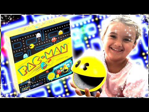 Whimsy Unboxes The Pac Man Board Game!