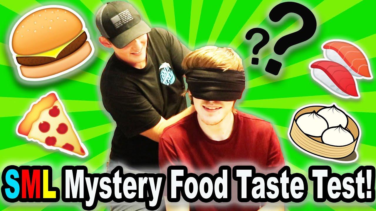 SML Mystery Food Taste Test!
