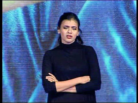 Heroine Hebah Patel Extraordinary Dubsmash at Kumari 21f Movie Platinum Disc Function