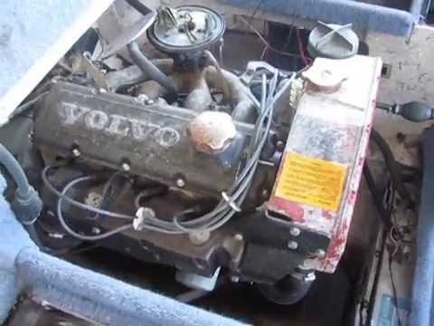 VOLVO Penta Marine AQ131 Complete ENGINE 1986 - YouTube
