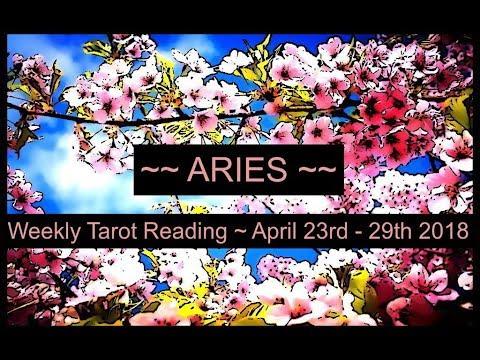 Aries Weekly Tarot - April 23rd - 29th 2018
