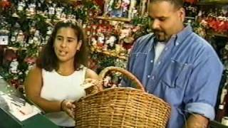 Christmas Tree Shop Commercial - Elvin & Lisa (Nov. 2000)