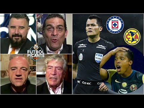 CRUZ AZUL vs AMÉRICA ¿PENAL a Giovani dos Santos? Álvaro ESTALLÓ por el arbitraje | Futbol Picante