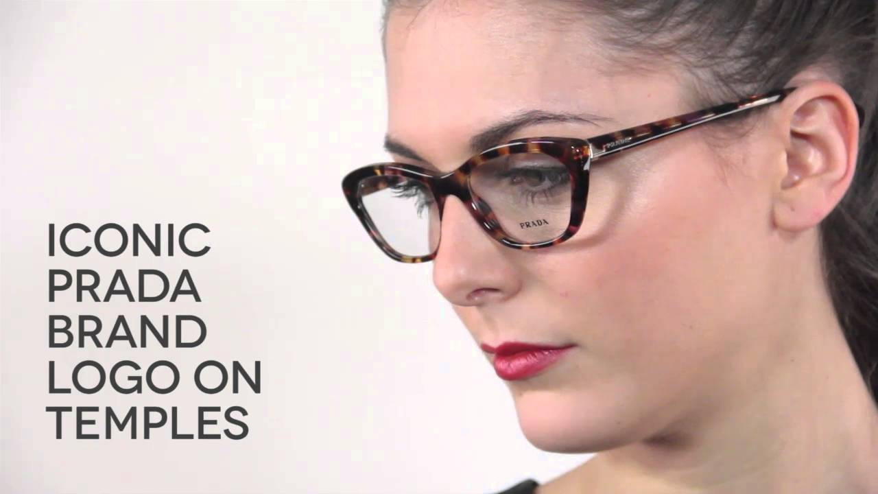Prada Pr03qv Glasses Review Smartbuyglasses Youtube
