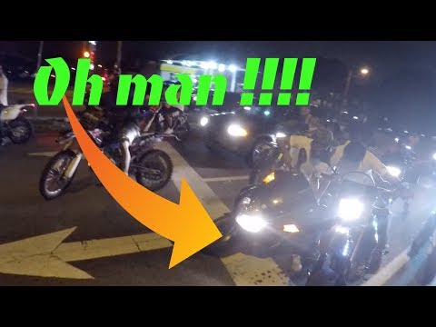 CRASHED INTO ME !!! (NOT GOOD)