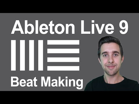 How to Make Beats in Ableton Live 9 (Beginner)