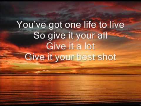 Lou Rawls - One Life To Live With Lyrics