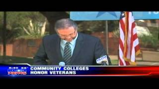 KUSI News: San Diego City College Honors Veterans Day
