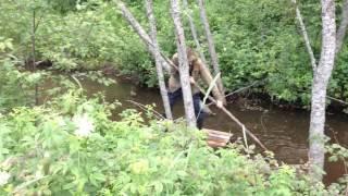 видео Рыбалка на угре домики