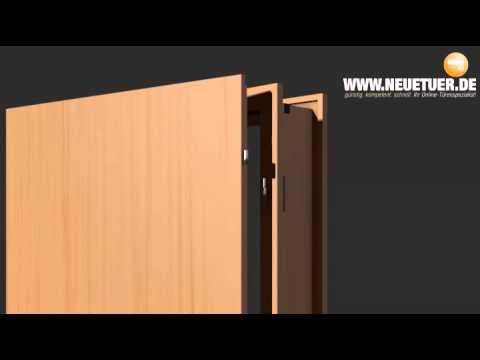 Neuetuer.de - Türen: Bestandteile, Ausmessen, Einbauen