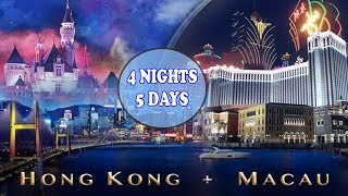 Hongkong and Macau - 4 nights & 5 days (Client Diaries)