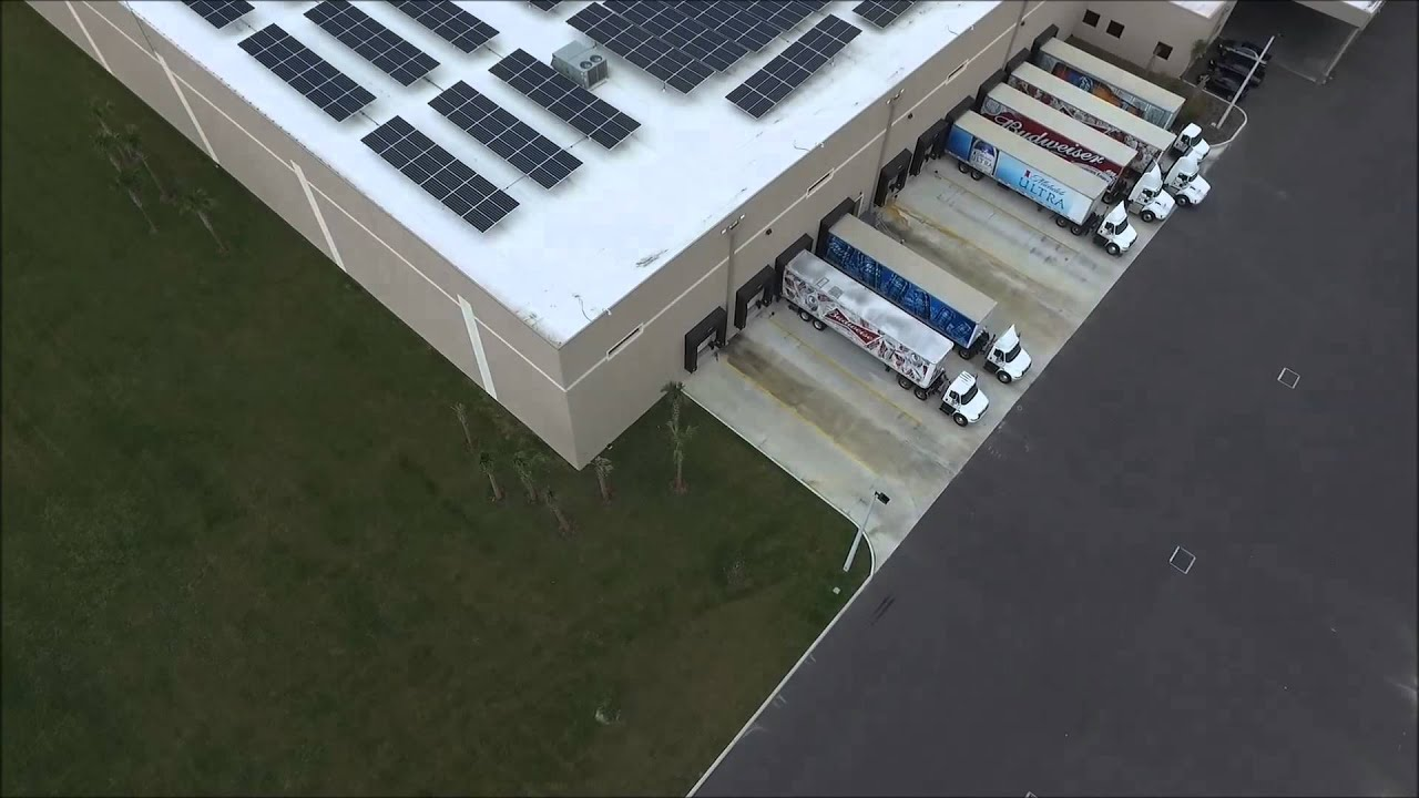 Project Spotlight Great Bay Distribution Solar Panels And