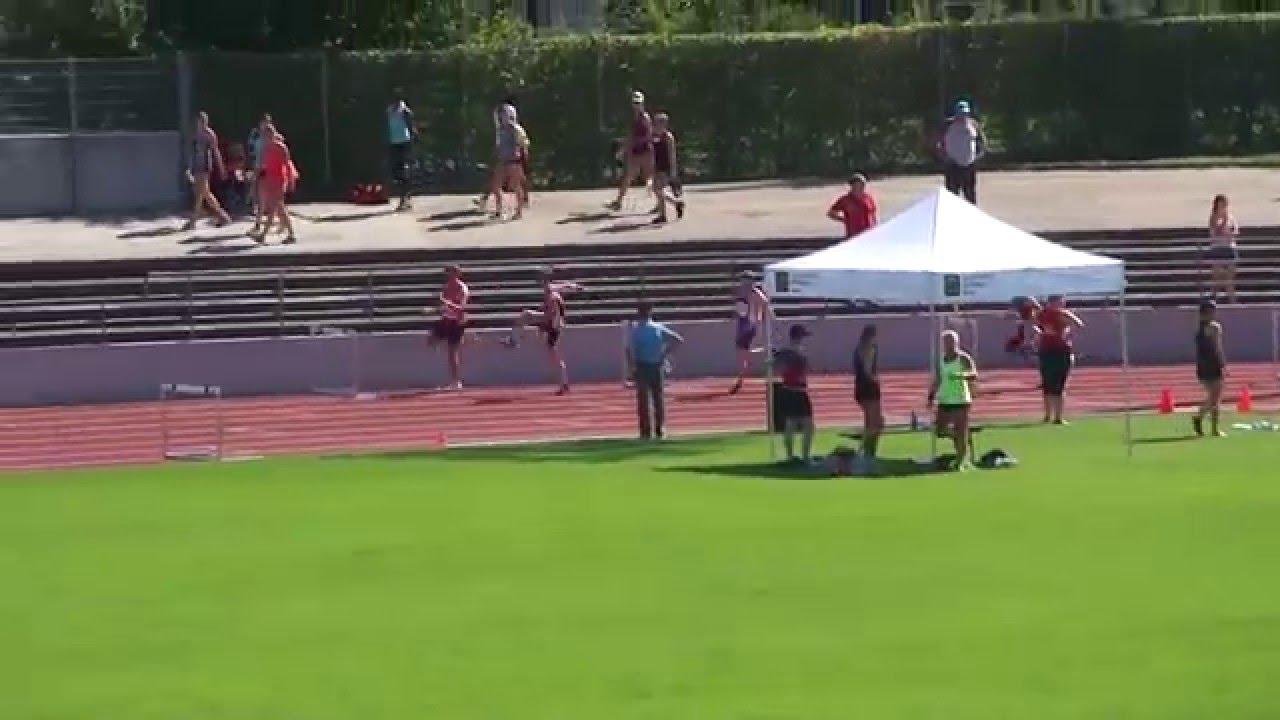 Schweizer Meisterschaften Basel 2015 400mH Final U23M Raphael Clemencio