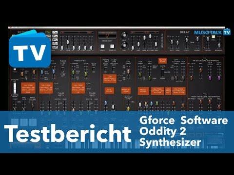 Test - Gforce Oddity2 Plug-in Synthesizer besser als Hardware? - deutsch