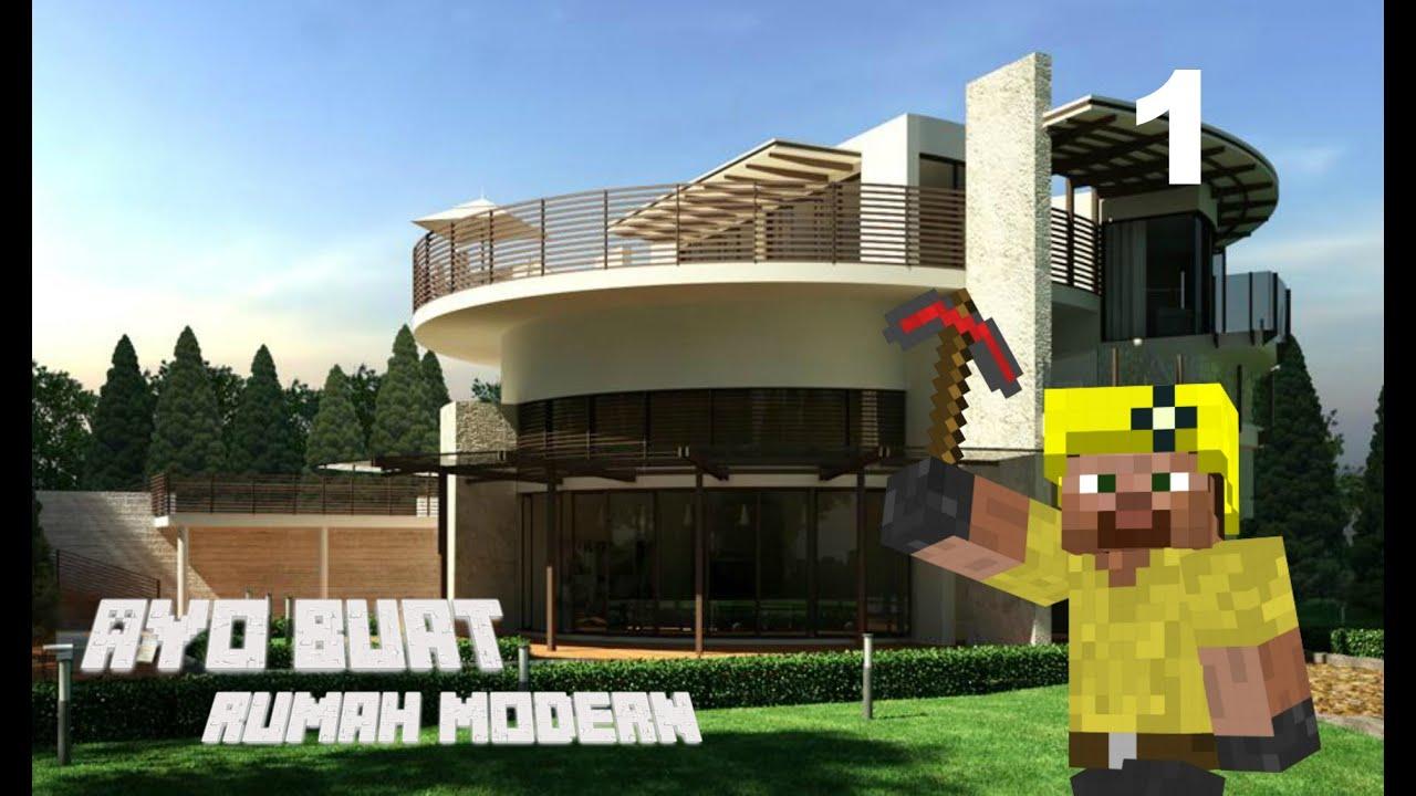 Cara Membuat Rumah Bagus Di Minecraft Pocket Edition membuat rumah di minecraft part 1 😍 gambar & Cara Membuat Rumah Bagus Di Minecraft Pocket Edition - Denah Rumah