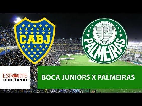 Boca Juniors 0 X 2 Palmeiras - 25/04/18 - Libertadores