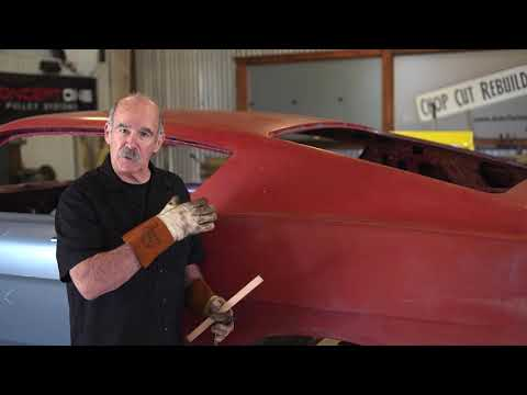 1969 Ford Torino Cobra Jet Quarter Panel Install - Episode 1 - Lead Removal