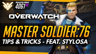 Overwatch | Master Soldier - Tips & Advice (ft Stylosa)