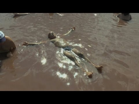 Rolling in the mud: Bulgaria's mud-and-lye 'spa' | AFP