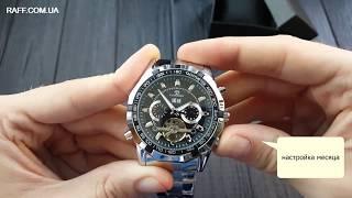 Механические наручные часы Forsining Texas (№1047) обзор, настройка