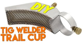 DIY Trail Cup for TIG Welding Reactive Alloys: Part 1 | TIG Time
