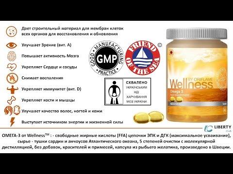 Omega 3 Омега 3 Wellness Sweden