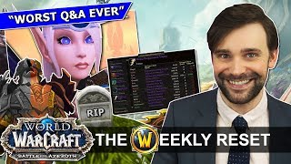 How BfA Is Ruining EVERYTHING: High Elves, GCD & Personal Loot Nonsense | World Of Warcraft News