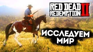 RED DEAD REDEMPTION 2 - ИССЛЕДУЕМ МИР, ОХОТА НА ЖИВОТНЫХ, ПРОХОЖДЕНИЕ СЮЖЕТА #2
