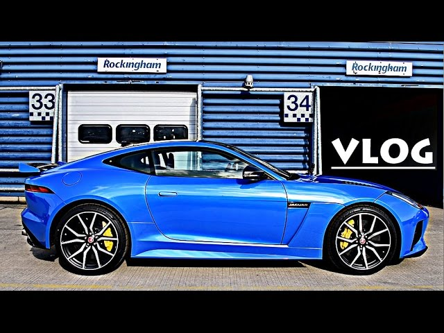 12 38 First Drive In Jaguar F Type Svr