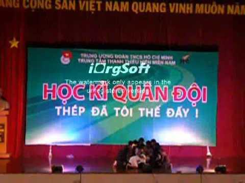 Vở nhạc kịch Võ Thị Sáu- Teen Leader 2011