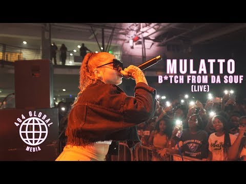 Mulatto – Bitch From Da Souf (Live Performance)