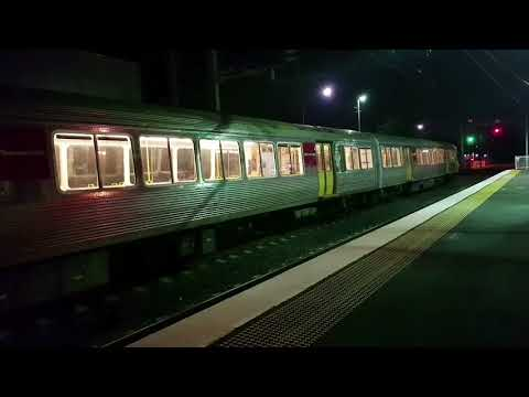 Queensland Express Trains at Sunshine and Lawnton. 16/01/2018.