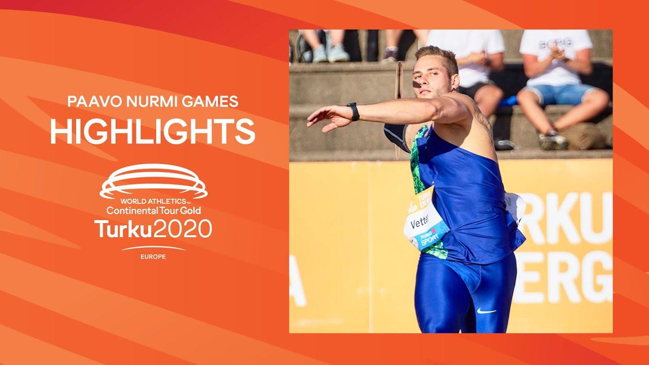 Paavo Nurmi Games, Turku | Highlights