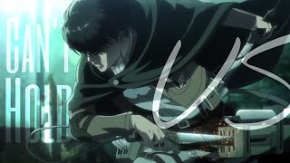 Attack on titan [AMV] - Can't hold us
