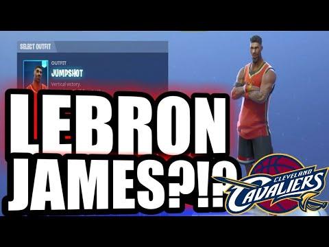 Jump Shot Or Lebron James? | FORTNITE - NEW SKINS | JumpShot GAMEPLAY