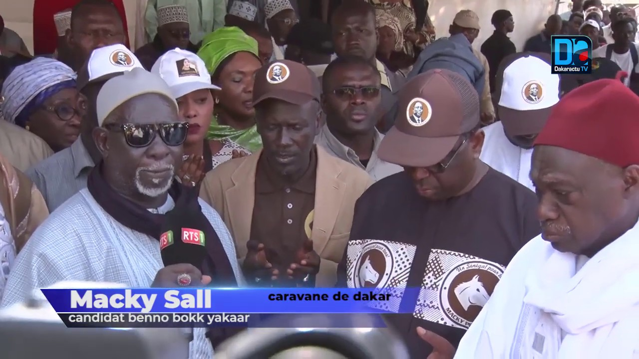 Les images de la déferlante de Macky Sall entre Médina, Grand-Dakar