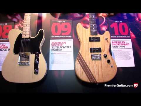 NAMM '15 - Fender American Standard Limited Edition Demos