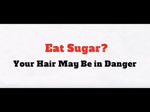 Sugar May Cause Hair Loss
