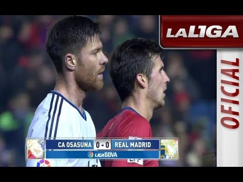 Resumen de Osasuna (0-0) Real Madrid - HD