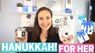 HANUKKAH HOLIDAY GIFT GUIDE FOR HER!!!