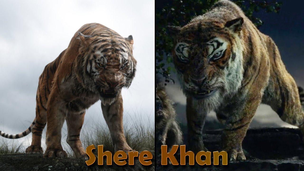 Download The Jungle Book vs Mowgli - CGI Animals
