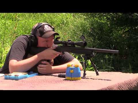 CVA Hunter 44 Magnum - Accuracy Test/ Plinking/ Woodchuck Hunt