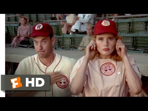 Jimmy and Dottie's Sign-Off - A League of Their Own (4/8) Movie CLIP (1992) HD