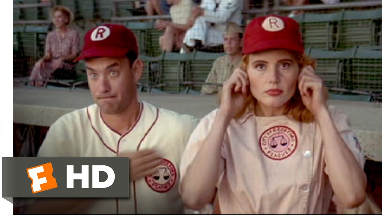 6af5f195 Jimmy and Dottie's Sign-Off - A League of Their Own (4/8) Movie CLIP (1992)  HD - YouTube