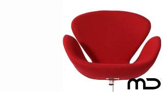 Swan Chair Red Replica From Milan Direct Australia