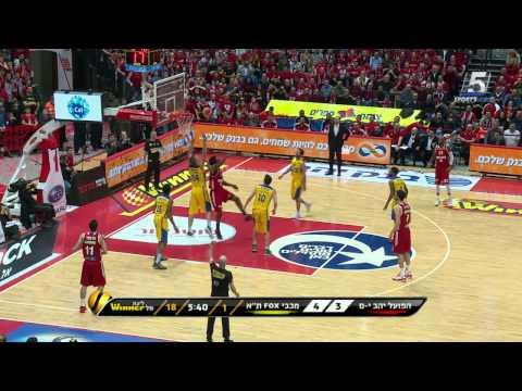 Highlights: Hapoel Jerusalem - Maccabi FOX TelAviv 74:63