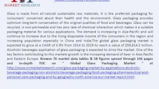 Glass Packaging Market & Demand By Application Segments