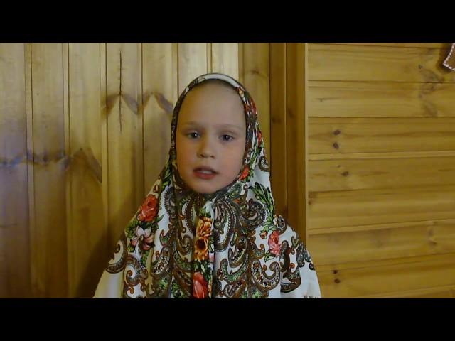 Изображение предпросмотра прочтения – АннаКравченко читает произведение «Северная скоморошина Барыня-блоха» (Русский фольклор )