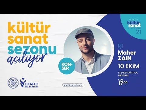 Maher Zain Konseri Canlı Yayını ile Şehir Ekranı'nda!